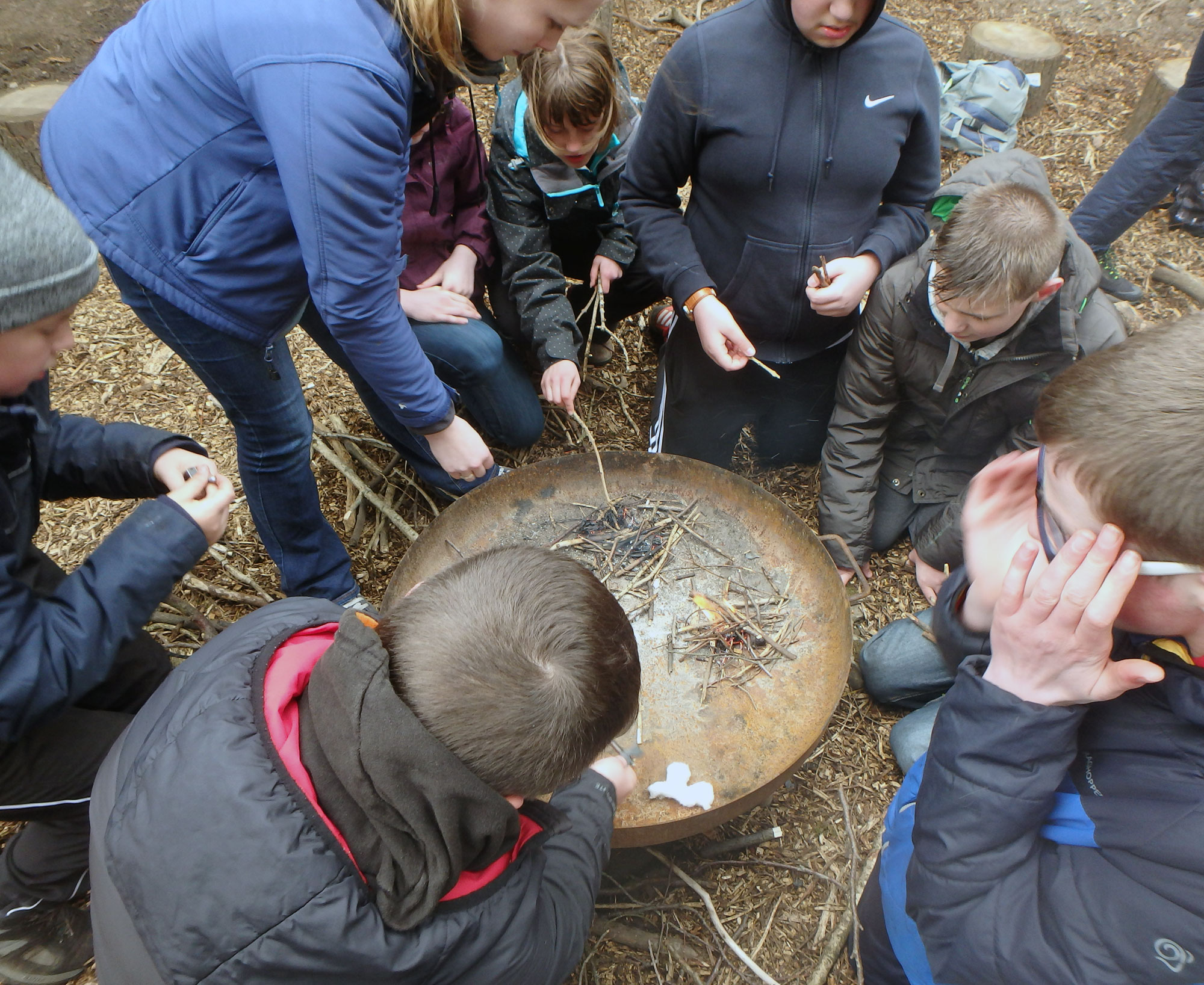 Bushcraft in the Yorkshire Dales