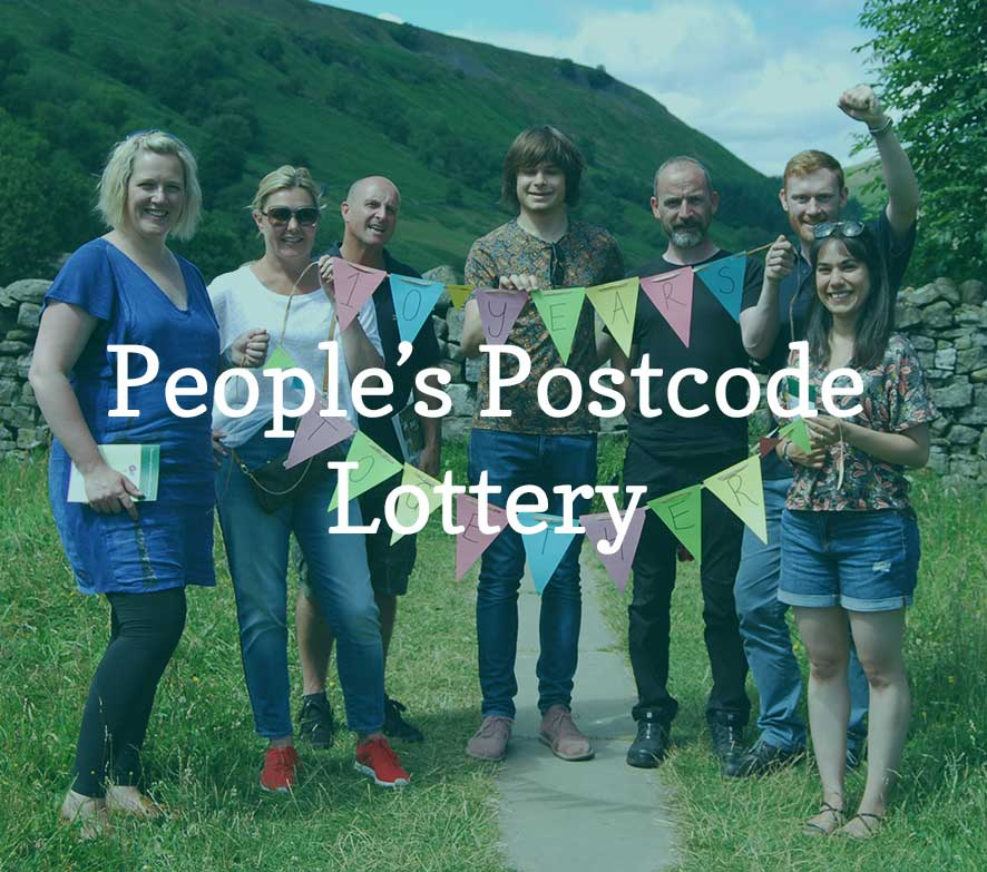 People's Postcode Lottery visit Muker meadows