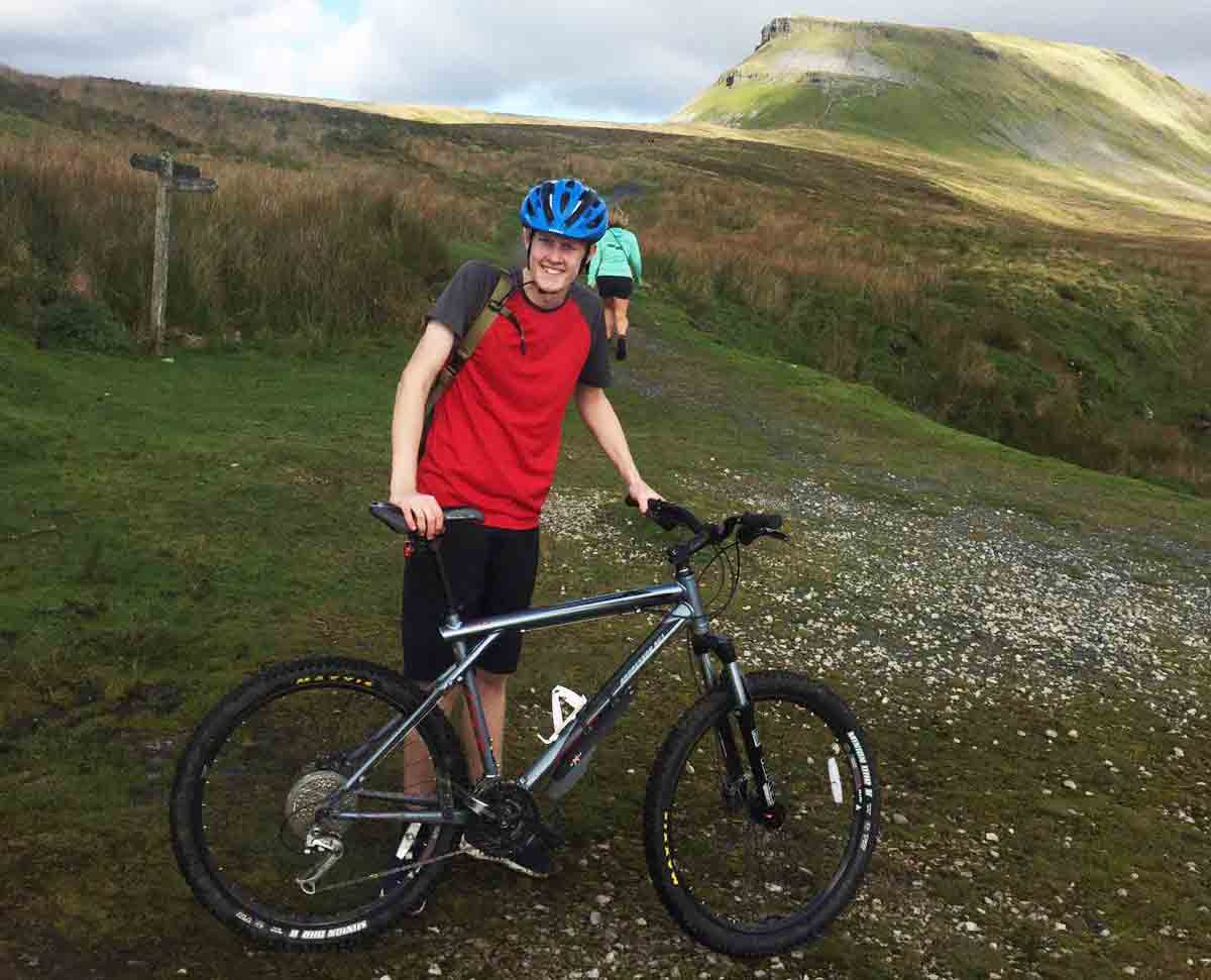Mountain bike Yorkshire Dales