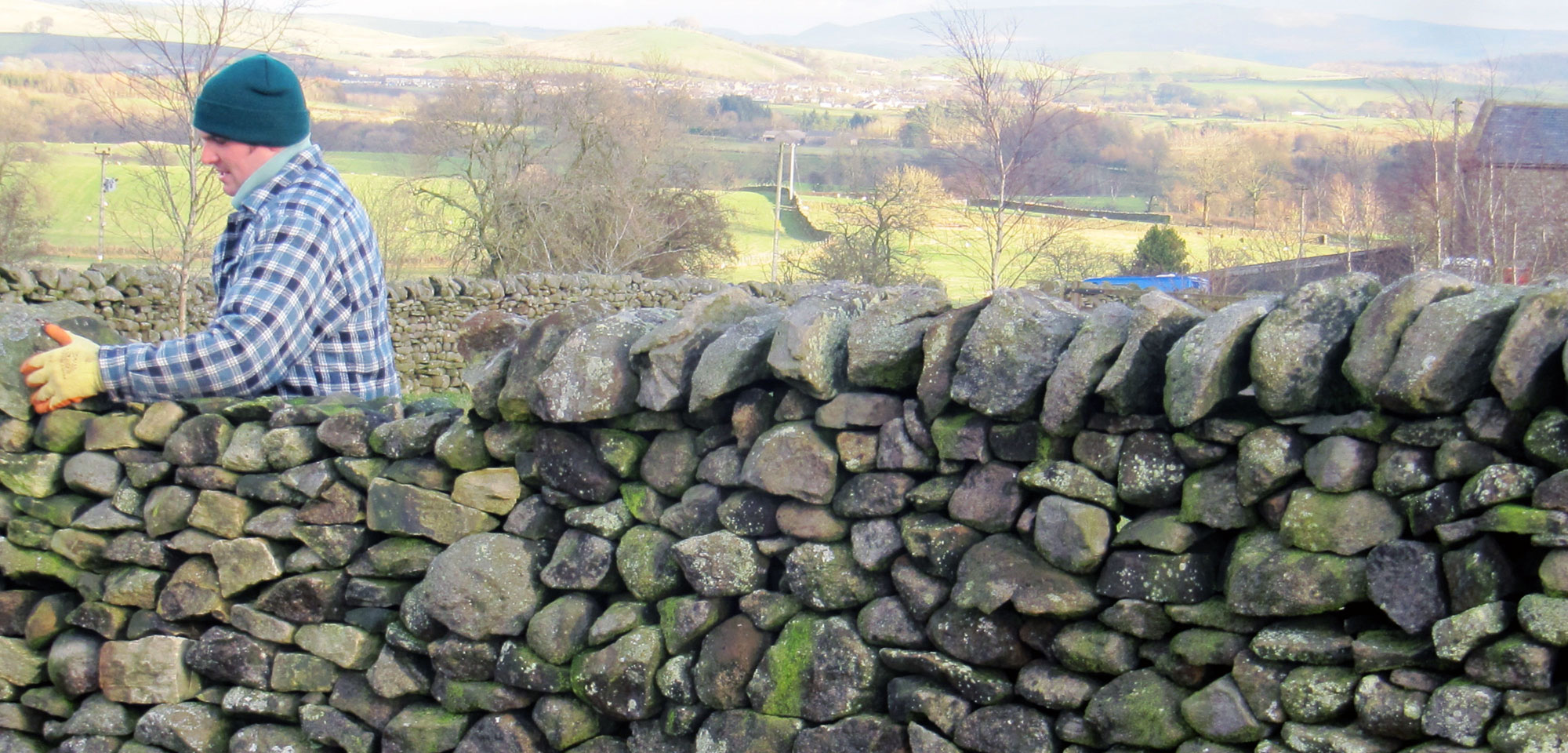Dry stone walling in the Yorkshire Dales