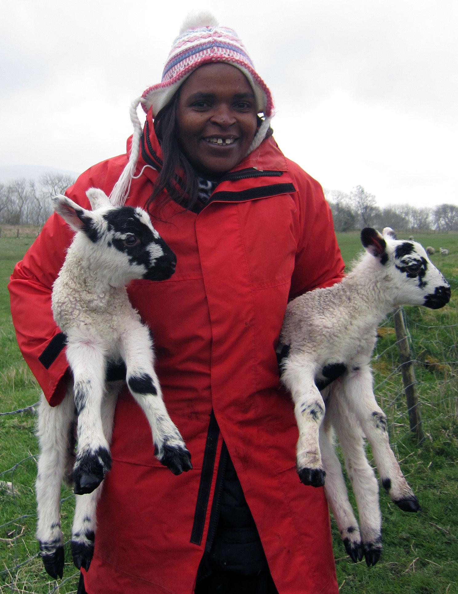 Lambing with PAFRAS Leeds