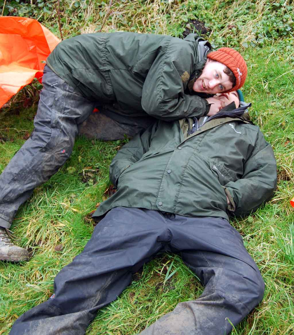 Outdoor First Aid training for Environmental Apprentices