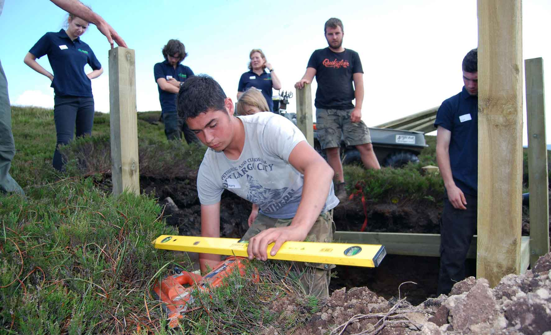 Environmental Trainees at Ramsgill